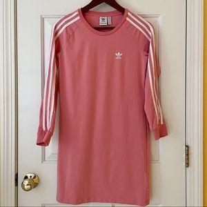 Adidas Pink Shirt Dress